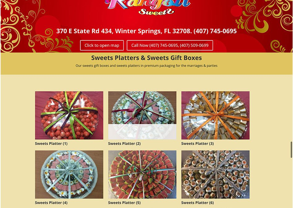 Rangoli Sweets of Florida