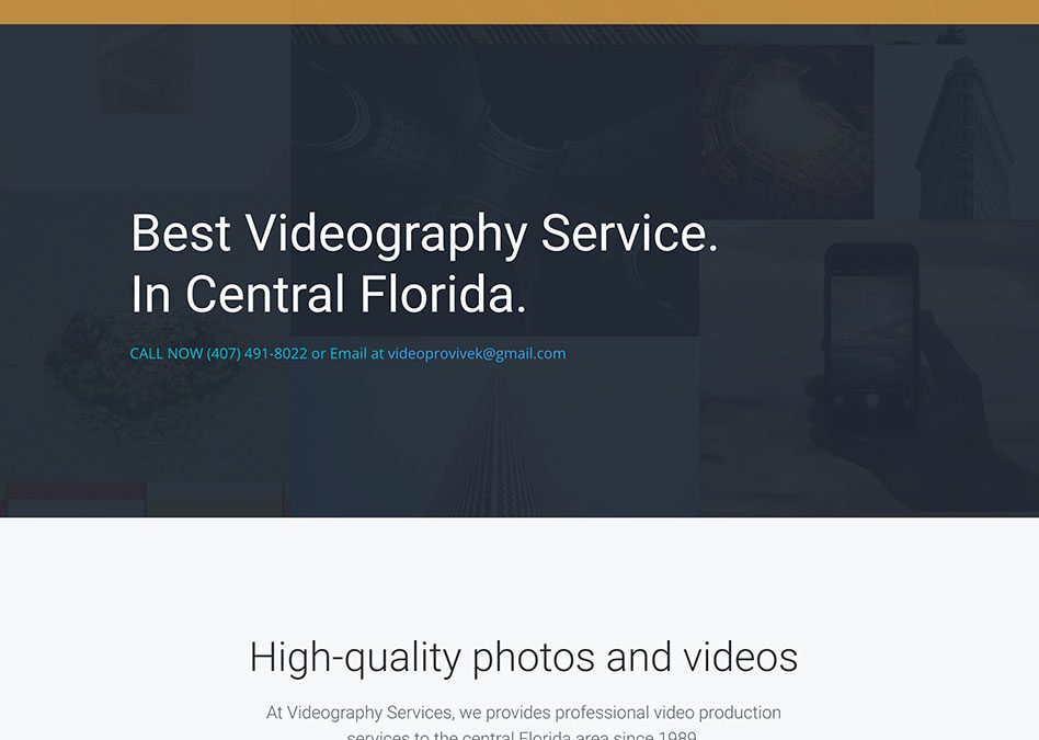 Our Work – Videography Services