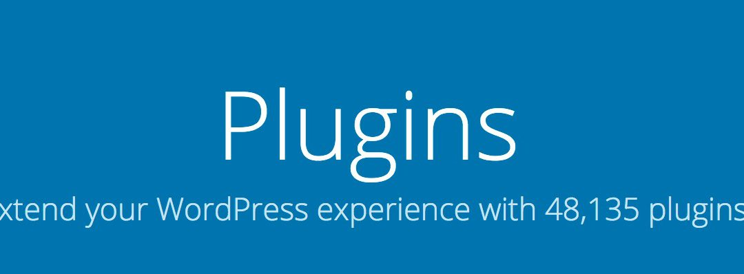 WordPress Plugins I uses