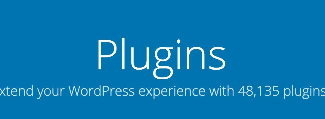 WordPress Plugins I uses